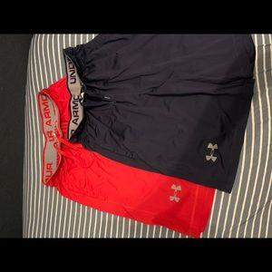 Men's Under Armour gym shorts